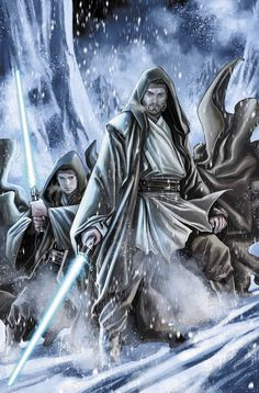Before their military heroism in the Clone Wars, before their tragic battle on Mustafar, and many decades before their final confrontation on the Death Star...they were Master Obi-Wan Kenobi and his P