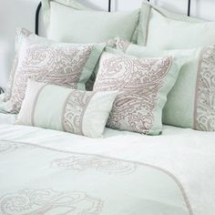 I pinned this from the Bright Bedroom - Vivacious Bedding & Eye-Catching Essentials event at Joss and Main!