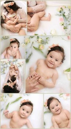 44 Ideas baby bath pictures newborn photography for 2019 Nursing Photography, Milk Bath Photography, Baby Girl Photography, Memories Photography, Breastfeeding Snacks, Photography Photos, Milk Bath Photos, Maternity Photography, Memories