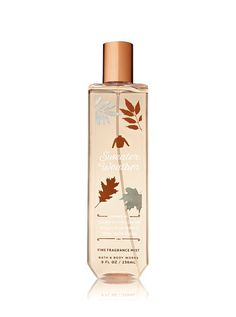 Signature Collection Sweater Weather Fine Fragrance Mist - Bath And Body Works Victoria Secret Body Spray, Bath And Body Works Perfume, Fancy Makeup, Body Shower, Fall Scents, Bath And Bodyworks, Fragrance Mist, Body Mist, Smell Good