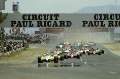 1982 Start GP França (Paul Ricard)