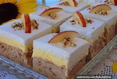 Home - Domaci Recept Apple Recipes, Sweet Recipes, Cake Recipes, Dessert Recipes, Bosnian Recipes, Croatian Recipes, Food Cakes, Cupcake Cakes, Cream Cheese Flan