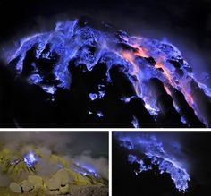 Kawah Ijen: Il Vulcano che erutta lava BLU - The volcano that spews BLUE lava