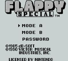 Flappy Special
