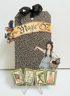 Magic Of Oz Graphic 45 tag