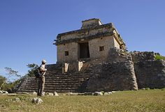 Dzibulchaltun Ruin Site near Merida