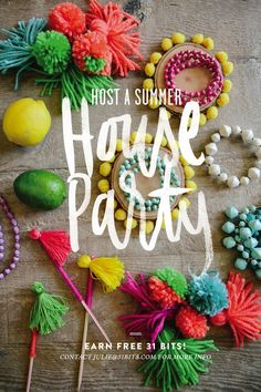 31 Bits | House Parties | styling by The Shift Creative | Lettering by Eva Black