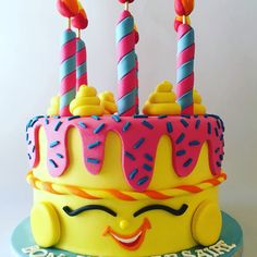 #shopkins #cake #happy_birthday #fondantcake #the_cakery_athens #chocolate #party #cakeart #cakeartist #baking #athens #instafood #instalovers #love #sweet #foodart #foodartist