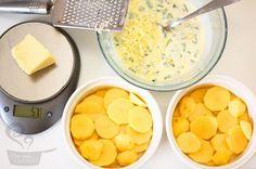 Batata gratinada com um toque de alho - Yahoo Mulher