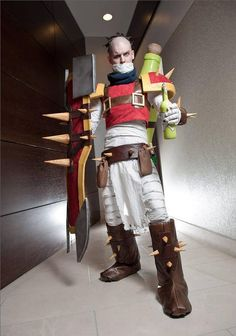 Singed League of Legends Cosplay