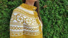 Voss kofte (S) Superwash. Norwegian Knitting, Cute Fashion, Womens Fashion, Fair Isle Knitting, Knitted Hats, Sewing, Skirts, Inspiration, Clothes