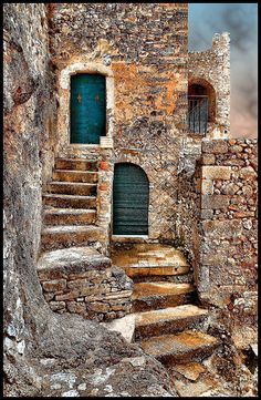 This is beautiful.  Looks like a painting! Cantalice, Lazio, Italy