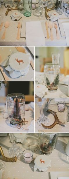 Rustic, Elegant Woodland Themed Baby Shower