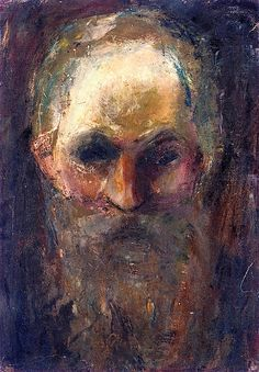 Edvard Munch: Study of an Old Man's Head, 1885-86.