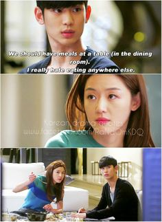 lmao!! Min Joon is so whipped he just can never win when it comes to Song Yi!lol My Love From Another Star