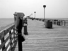 The pier in Cherry Grove, SC (love this place <3) where we used to go for family reunions when i was a child.
