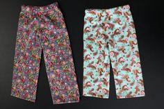Simple Kids Pajama Pants Tutorial