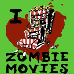 ZOMBIE MOVIE T-Shirt  by Adam Kavanagh