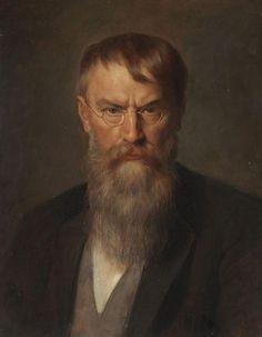 Franz von Defregger - Bildnis Franz von Lenbach 1907