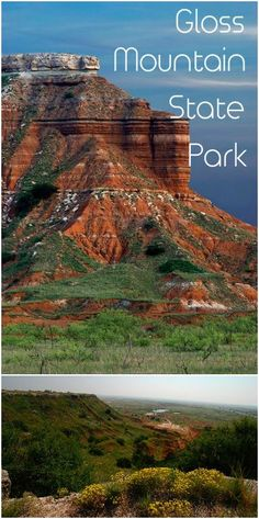 Located in northwestern Oklahoma, Gloss Mountain State Park is a hidden gem in the plains. The park was named after the shimmery quality of the selenite found in the rock. The park is day use only but is a wonderful place for a hike and a picnic. Travel And Tourism, Travel Usa, The Places Youll Go, Places To See, Travel Oklahoma, Tulsa Oklahoma, Mountain States, Le Far West, Beautiful Places To Visit