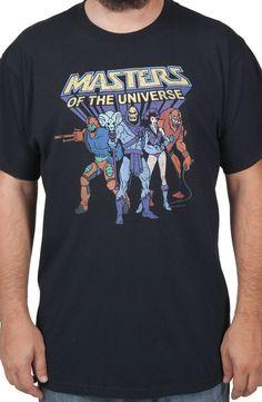 Masters Of The Universe Villains Shirt: Skeletor, Evil Lynn, Trap-Jaw