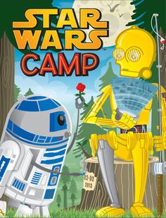 """The """"Star Wars Camp Toolkit"""" lets you legally run these terrific activities, created by camp director Jeff Merhige at Lucasfilm's request. They include artwork and sound files, too.  Over 600 camps used them last summer."""