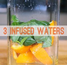 Infused Water Recipes (Pineapple & Mint sounds good!)