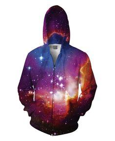Cosmic Forces Zip-Up Hoodie