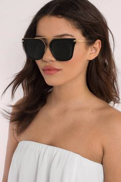 Looking for the Sonix Parker Black Sunglasses? | Find Sunglasses, Womens Accessories and more at Tobi! - 50% Off Your First Order - Fast & Free Shipping For Orders over $50 - Free Returns within 30 days!