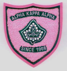 Alpha Kappa Alpha Sorority or AKA Patches Omega Psi Phi, Delta Sigma Theta, Alpha Kappa Alpha Sorority, Alpha Fraternity, Aka Sorority, Cute Patches, Alpha Female, Pretty Girls, Pink And Green