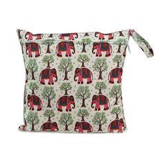 Waterproof Reusable Zipper Baby Cloth Diaper Bag