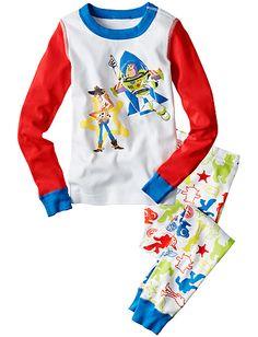 Disney•Pixar Toy Story Long John Pajamas from Hanna Andersson