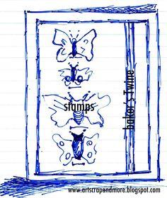 art scrap & more: a sketch a Card - a Stamp & Baker's Twine