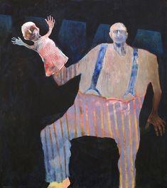 Mel McCuddin, Hand Puppet 2000, oil on canvas
