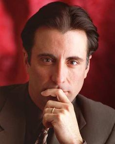 Andy Garcia~love him! Andy Garcia, Hollywood Star Walk, Gq Men, Dapper Dan, Classic Movie Stars, Most Handsome Men, Famous Faces, American Actors, Gorgeous Men