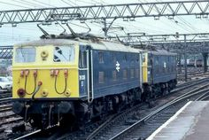 A pair of class Electric Locomotive, Diesel Locomotive, Electric Train, British Rail, Sheffield, Great Britain, Planes, Transportation, Pictures