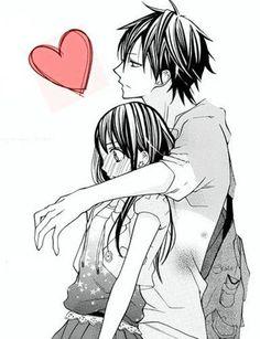 Imagem de love, anime, and couple