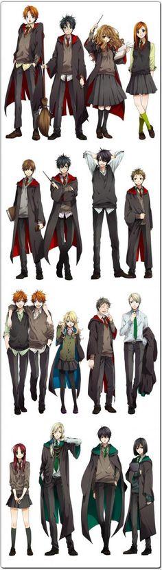 7. Harry Potter Cast Machomachi 8. Lily and Snape Dhiea 9. Helga Hufflepuff Nwjul0958 10. Godric Gryffindor Nwjul0958 11. Rowena Ravenclaw Nwjul0958 Jul 5, 2015mangapanda