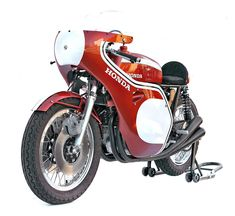 When it comes to iconic motorcycles, this one is always near the top of the list. The Honda CB750 Racing Type (also referred to as the Honda CR750) was the race spec version of Honda's already highly capable 4-cylinder CB750. This CB750 is a replica of the bike Dick Mann rode to victory in the...
