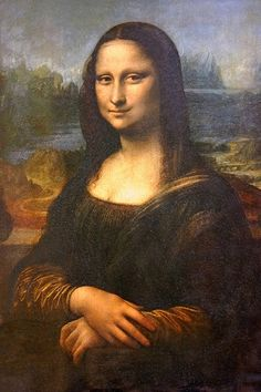 Why is Mona Lisa smiling like that? Does she know something we don't? #MonaLisa #Smile