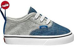 Vans Toddlers Authentic V Lace(VA38E9MMG) - Imperial Blue/true White - 3.5C (*Partner-Link)