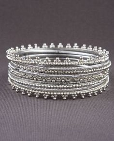 bangles #silver #jewelry #bracelets by mollie