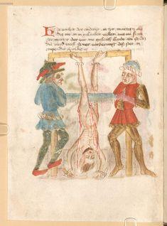 Medieval Life, Medieval Art, Medieval Manuscript, Illuminated Manuscript, Renaissance Kunst, Medieval Paintings, Dark Art Drawings, Late Middle Ages, Arte Horror