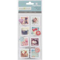 Retro Romance Photo STICKERS - Paper House Snap Shots Stickers - Wedding Stickers -  Love Romance Stickers - Wedding Album Stickers by OneDayLongAgo on Etsy