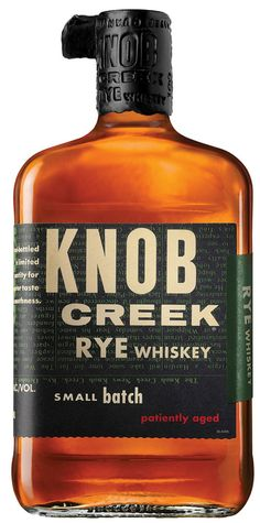 DRINK.CH Online Beverage Delivery Service Knob Creek Straight Rye Small Batch Whiskey 75cl - Whisk(e)y - Spirituosen | Your Personal Beverage Butler