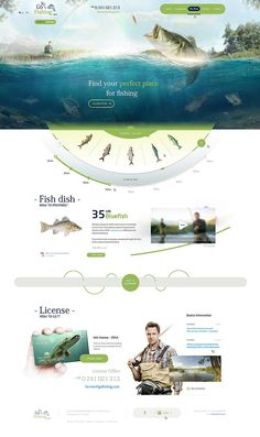 Creative Fishing Website by sandracz on DeviantArt