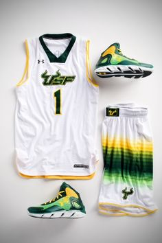 fefc4a2bf USF s Surfer Basketball Jerseys Basketball Uniforms
