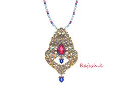 Jewelry Art, Jewellery, Jewelry Design Drawing, Designs To Draw, Pendant Necklace, Jewels, Drawings, Fashion, Moda