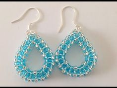 Tear Drop Earring Tutorial for the Beginner using CRAW