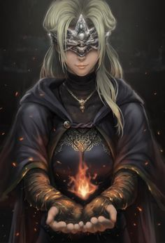 Fire Keeper - Dark Souls 3 by Joshtffx on Dark Souls 3, Dark Souls Gifts, Arte Dark Souls, Dark Fantasy, Fantasy Art, Character Inspiration, Character Art, Character Design, Fantasy Characters
